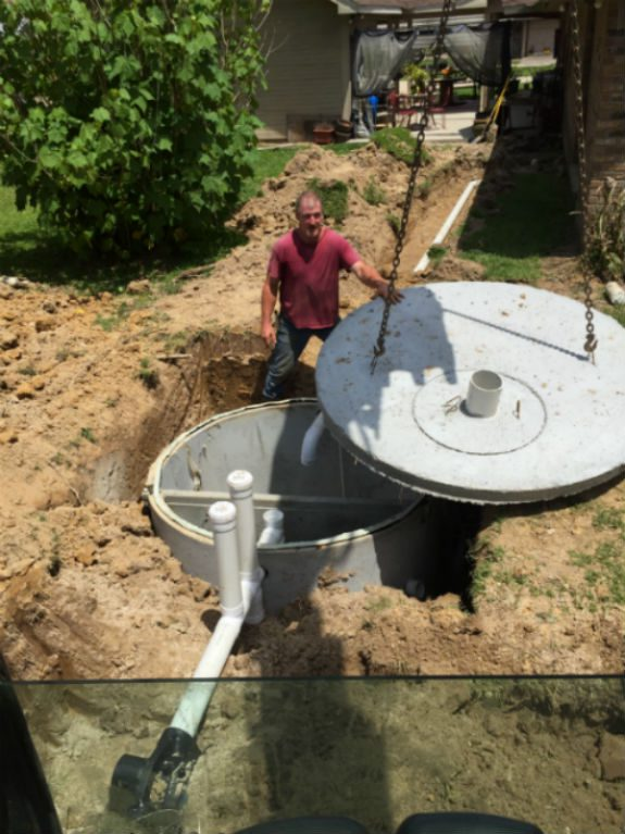 Picture of Septic Tank Installation