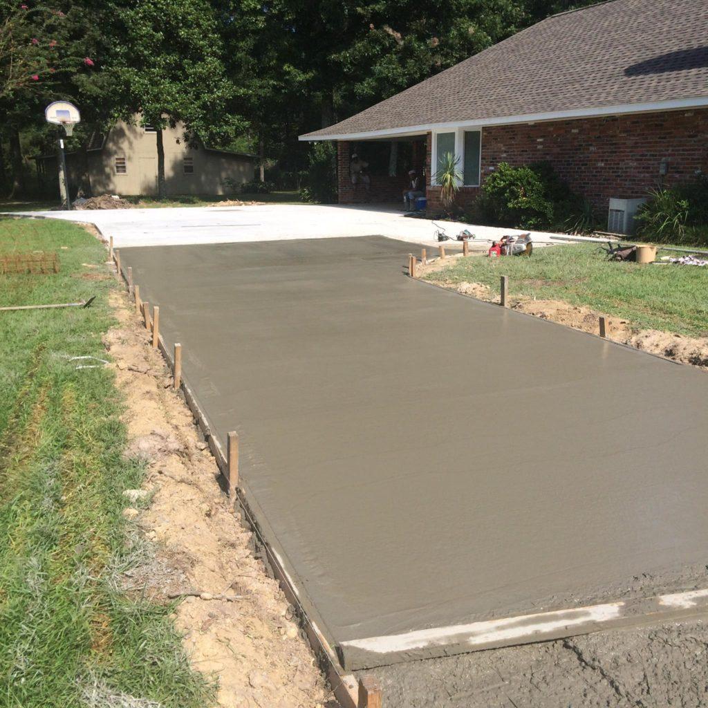 Concrete Driveway repaired